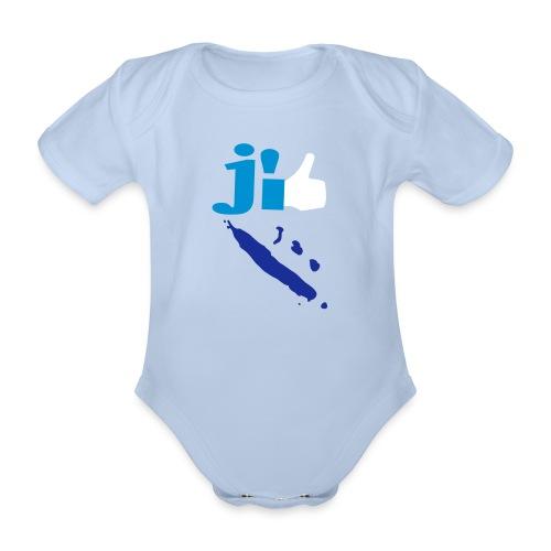 J'aime la Nouvelle Calédonie  - Body bébé bio manches courtes