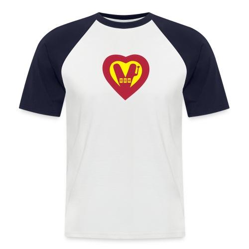 super Vegan - Men's Baseball T-Shirt