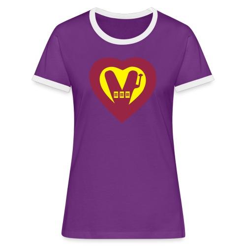 super Vegan - Women's Ringer T-Shirt
