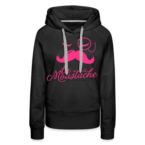 Vrouwensweater met capuchon . - Vrouwen Premium hoodie