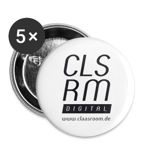 Button Logo CLSRM Digital - Buttons mittel 32 mm