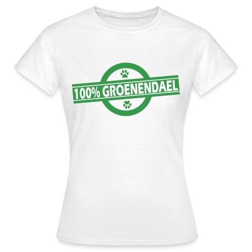 100% Groenendael - T-shirt Femme