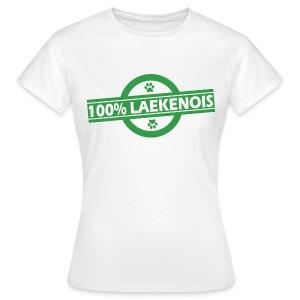 100% Laekenois - T-shirt Femme
