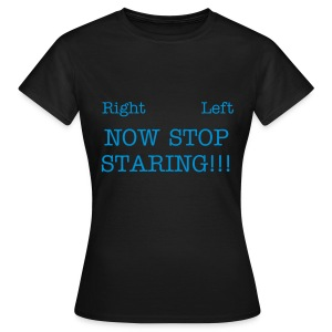 Men Stop - Women's T-Shirt