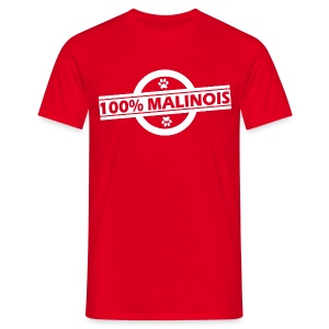 100% Malinois - T-shirt Homme