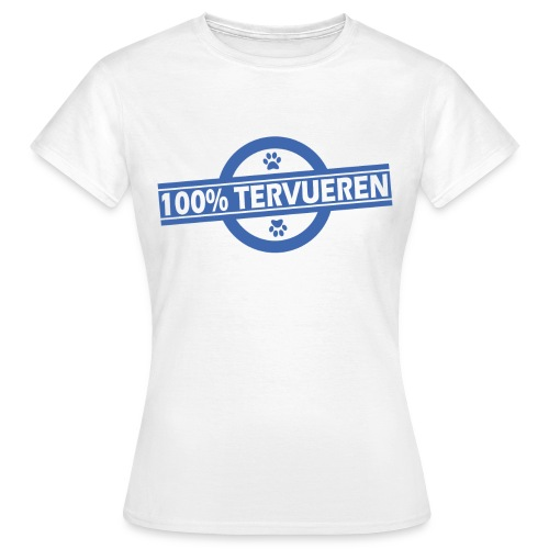 100% Tervueren - T-shirt Femme