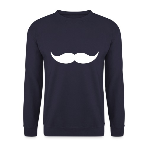 Moustache Neck - Herre sweater