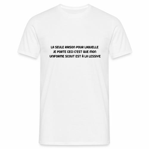 Uniforme à la lessive - T-shirt Homme