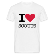 Tee shirts ~ Tee shirt Homme ~ I love Scouts