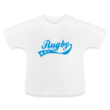 rugby is life - retro Baby Shirts