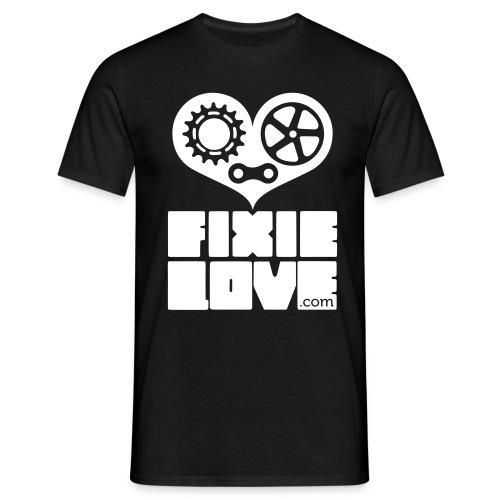 fixie basic fixielove  - T-shirt Homme