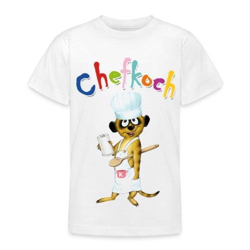 Chefkoch-Schlingel - Teenager T-Shirt