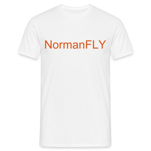 FLY White male - Männer T-Shirt