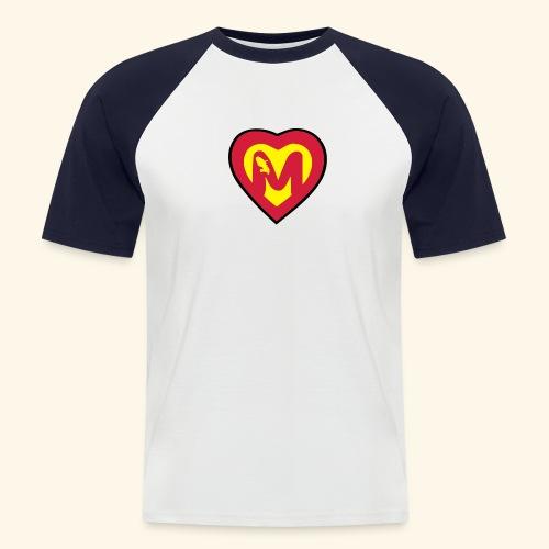 super martiniquais - T-shirt baseball manches courtes Homme