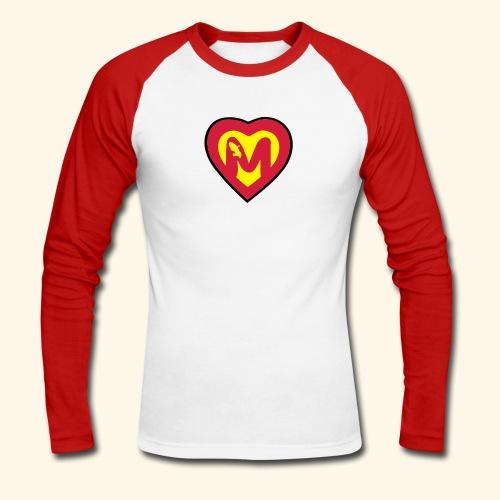 super martiniquais - T-shirt baseball manches longues Homme