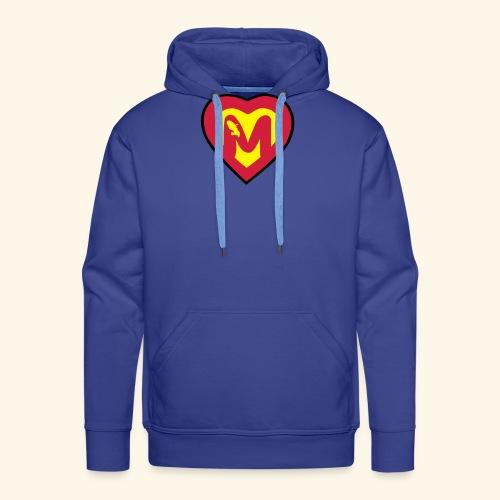 super martiniquais - Sweat-shirt à capuche Premium pour hommes