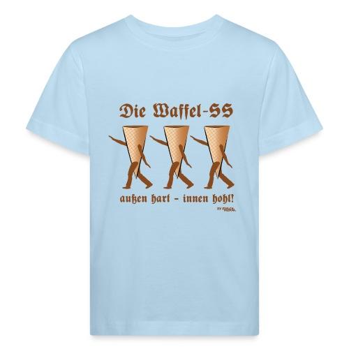 Die Waffel-SS – außen hart, innen hohl - Kinder Bio-T-Shirt