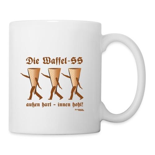 Die Waffel-SS – außen hart, innen hohl - Tasse