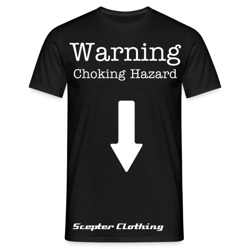 Choking Hazard T-shirt - Men's T-Shirt