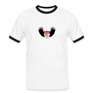 Kölsche Bloot Flügel - Männer Kontrast-T-Shirt