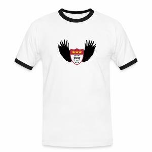 Kölsche Jung Flügel - Männer Kontrast-T-Shirt