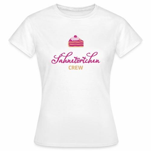 Sahnetörtchen Crew - Frauen T-Shirt