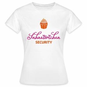 Sahnetörtchen Security - Frauen T-Shirt