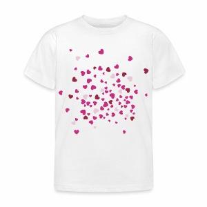 Herzen - Kinder T-Shirt