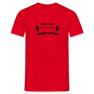 Weightlifting - Men's T-Shirt