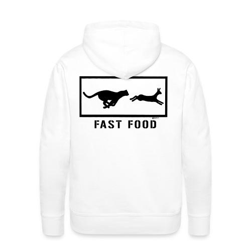 FAST FOOD - Männer Premium Hoodie