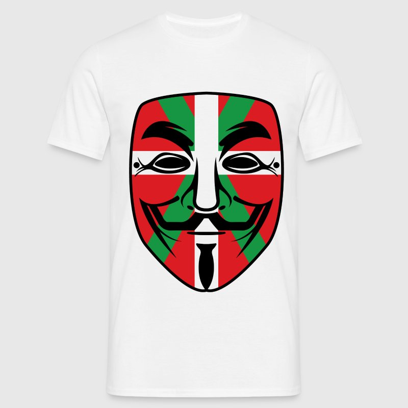basque anonymous  Tee shirts - T-shirt Homme