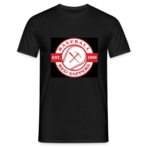 Logo Chest, , Red Sappers Back - Men's T-Shirt