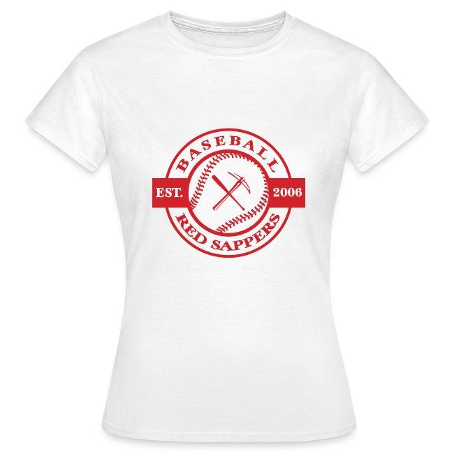 Women's T-Shirt, Logo chest, Dudelange back