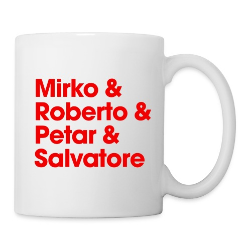 Tasse - mit den Legenden in den neuen Tag! - Tasse