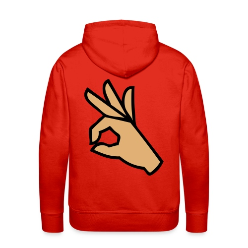 look - Mannen Premium hoodie