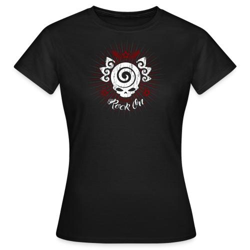 Skull Rock On! - Maglietta da donna