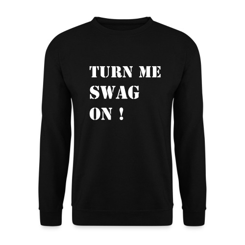 Turn me swag Black - Herre sweater