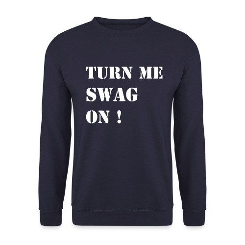 Turn Me Swag Blue - Herre sweater