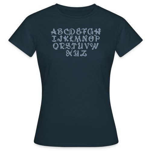ABCDEFGH - Frauen T-Shirt