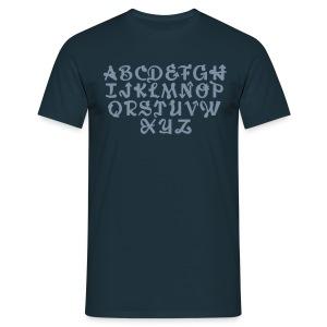 ABCDEFGH - Männer T-Shirt