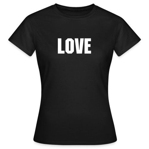 Word of the Day - LOVE - Machine font - Women's T-Shirt