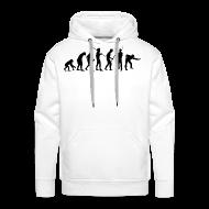 Pullover & Hoodies ~ Männer Premium Kapuzenpullover ~ evolution pulli