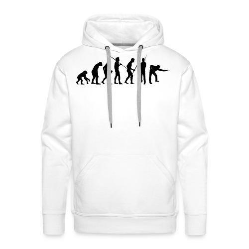 evolution pulli - Männer Premium Hoodie