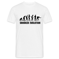 T-Shirts ~ Men's T-Shirt ~ Snooker Evolution black