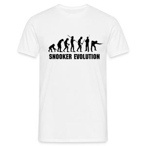 Snooker Evolution black - Männer T-Shirt