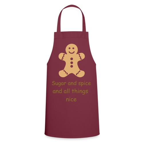 Gingerbread man apron - Cooking Apron
