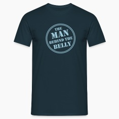 MAN BEHIND THE BELLY T-Shirt AN