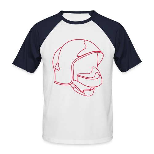 Casque F1 - T-shirt baseball manches courtes Homme