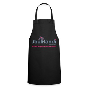 Cooks Apron with Silver & Neon Pink Logo - Cooking Apron