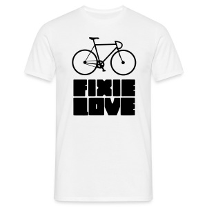 fixie love  - T-shirt Homme